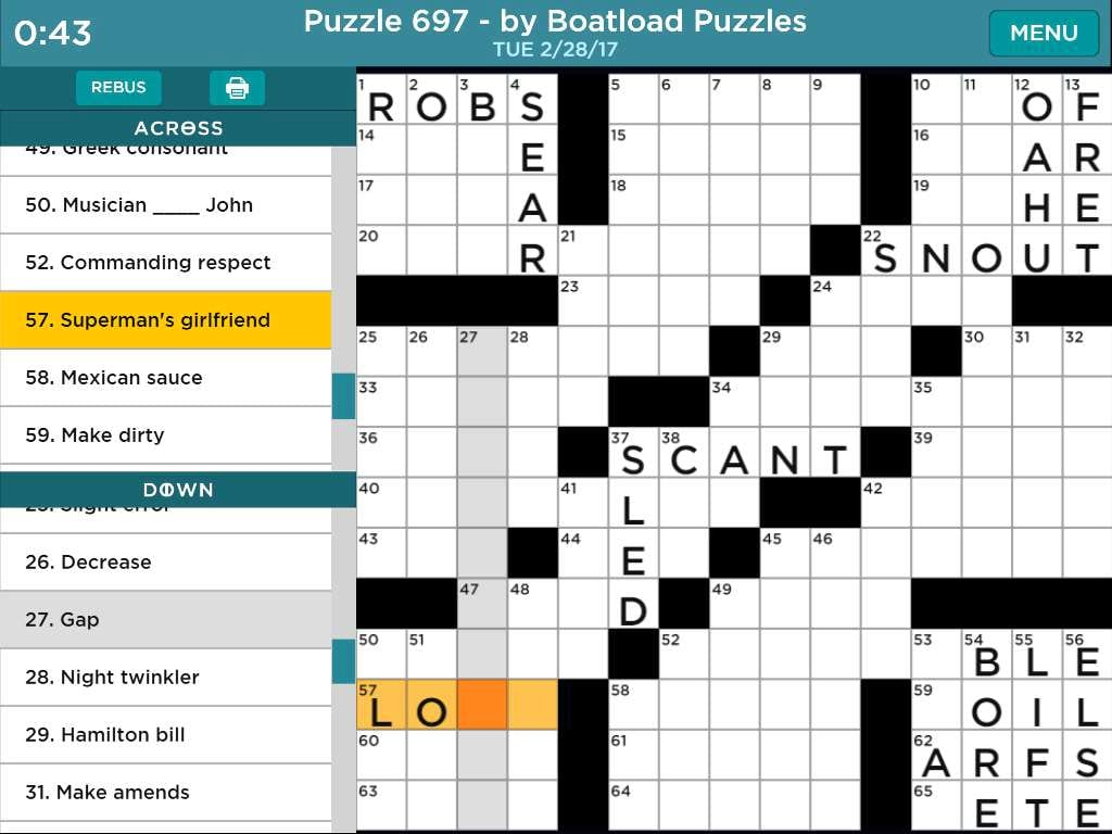 Daily Crossword Puzzle To Solve From Aarp Games